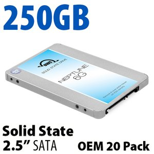 250GB OWC Neptune 6G 2.5-inch 7mm SATA 6.0Gb/s Solid-State Drive (OEM 20 Pack)