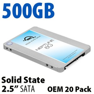 500GB OWC Neptune 6G 2.5-inch 7mm SATA 6.0Gb/s Solid-State Drive (OEM 20 Pack)
