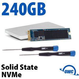 240GB OWC Aura N SSD Complete Upgrade Solution for Select 2013 & Later Macs