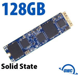 (*) 128GB OWC Aura Pro X Internal SSD(Blade Only) for Select 2013 & Later Macs