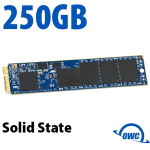 250GB OWC Aura Pro 6Gb/s SSD + OWC Envoy Upgrade Kit for MacBook Air (2010-2011)