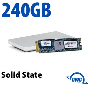 240GB OWC Aura Pro X SSD Upgrade Solution for Select 2013 and Later MacBook Air & MacBook Pro