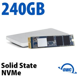 240GB OWC Aura Pro X2 SSD Upgrade Solution for Select 2013 and Later MacBook Air & MacBook Pro