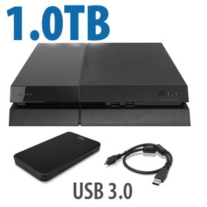 1.0TB OWC External HDD Storage Drive Upgrade for Sony PlayStation 4