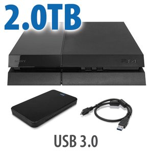 2.0TB OWC External SSD Storage Drive Upgrade for Sony PlayStation 4