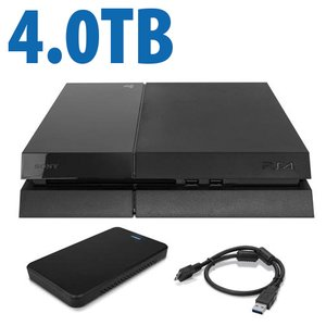 4.0TB OWC External SSD Storage Drive Upgrade for Sony PlayStation 4