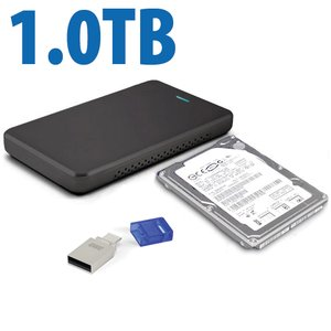 Drive Upgrade Kit for Sony PlayStation 4: 1.0TB HDD Internal upgrade w/Flash Drive, Tool, & More