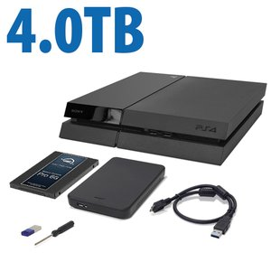 4.0TB OWC DIY Internal HDD to SSD Upgrade Bundle for Sony PlayStation 4 with USB Flash Drive, Tool & More