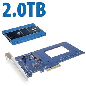 (*) DIY Kit: OWC Accelsior S + 2.0TB Extreme Pro 6G Solid-State Drive Bundle.