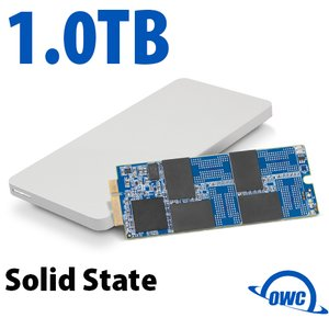 1.0TB OWC Aura Pro 6G SSD + Envoy Pro Upgrade Kit for 2012-13 MacBook Pro with Retina display.