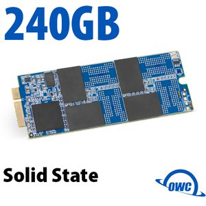 240GB OWC Aura Pro 6G Solid-State Drive for 2012-13 MacBook Pro with Retina display.
