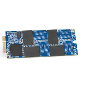 (*) 240GB OWC Aura Pro 6G Solid-State Drive for 2012-13 MacBook Pro with Retina display.
