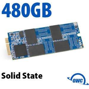 480GB OWC Aura Pro 6G Solid-State Drive for 2012-13 MacBook Pro with Retina display.