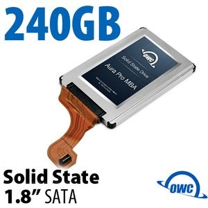 240GB OWC Mercury Aura Pro MBA 1.8-inch SATA 3.0Gb/s Solid-State Drive for MacBook Air (Late 2008 - Mid 2009)