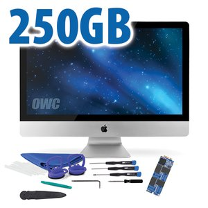DIY Kit: 250GB OWC Aura Pro 6G Solid-State Drive for 2012-13 iMac with complete DIY toolkit
