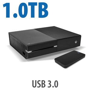 1.0TB Hard Drive Upgrade Kit for Xbox One: Add 2x the capacity to your Xbox