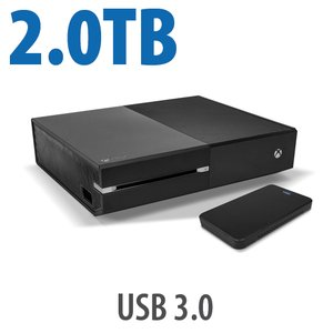 2.0TB Hard Drive Drive Upgrade Kit for Xbox One: Add 4x the capacity to your Xbox