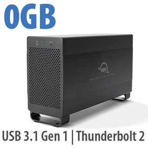 OWC Mercury Elite Pro Dual USB 3.1 Gen 1 & Thunderbolt 2 RAID Storage Enclosure with cables