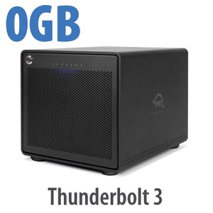 OWC ThunderBay 6 RAID Ready 6-Bay External Storage Enclosure with Dual Thunderbolt 3 Ports
