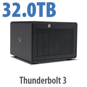 32TB OWC ThunderBay 8 Thunderbolt 3 RAID Enterprise Drive Storage Solution