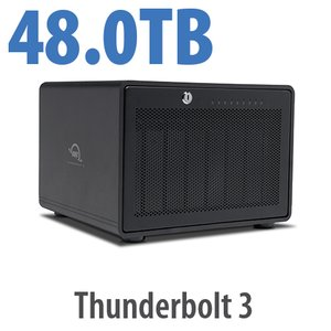 48TB OWC ThunderBay 8 Thunderbolt 3 RAID Enterprise Drive Storage Solution