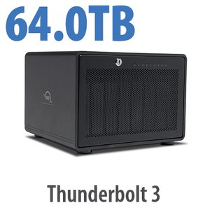 64TB OWC ThunderBay 8 Thunderbolt 3 RAID Enterprise Drive Storage Solution