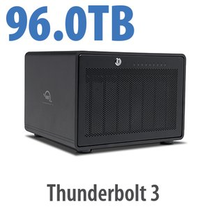 96TB OWC ThunderBay 8 Thunderbolt 3 RAID Enterprise Drive Storage Solution
