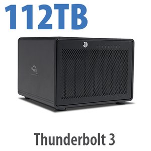 112TB OWC ThunderBay 8 Thunderbolt 3 RAID Enterprise Drive Storage Solution