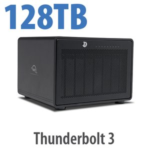 128TB OWC ThunderBay 8 Thunderbolt 3 RAID Enterprise Drive Storage Solution