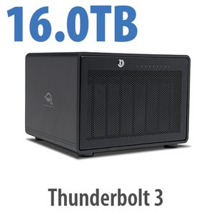 16TB OWC ThunderBay 8 Thunderbolt 3 RAID Storage Solution