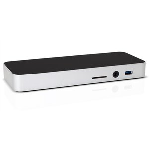 OWC 12-Port Thunderbolt 3 Dock with Cable - Silver