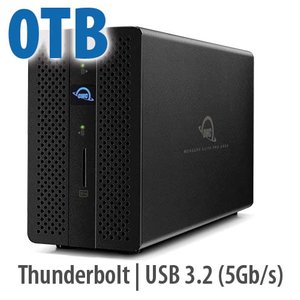 OWC Mercury Elite Pro Dock - Thunderbolt 3 Dock and Dual-Drive RAID Solution