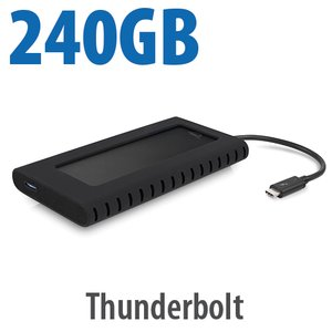 (*) 240GB OWC Envoy Pro EX with Thunderbolt 3 - Rugged High-Performance Ultra-Compact External SSD