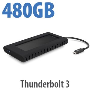 (*) 480GB OWC Envoy Pro EX with Thunderbolt 3 - Rugged High-Performance Ultra-Compact External SSD