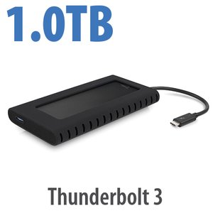 1.0TB OWC Envoy Pro EX Thunderbolt 3, Bus-Powered
