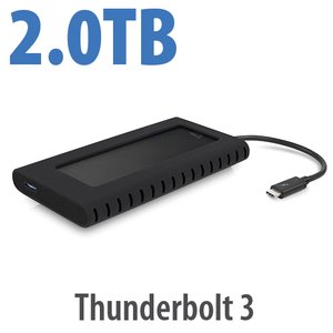 2.0TB OWC Envoy Pro EX with Thunderbolt 3 - Rugged High-Performance Ultra-Compact External SSD