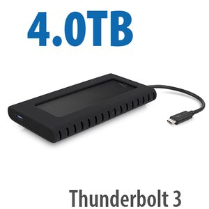 4.0TB OWC Envoy Pro EX with Thunderbolt 3 - Rugged High-Performance Ultra-Compact External SSD