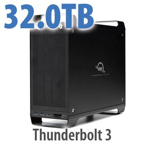 32TB (8x4TB) ThunderBay Flex 8 Thunderbolt 3 Storage Solution