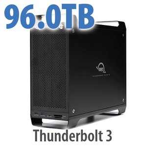 96TB (8x12TB) ThunderBay Flex 8 Thunderbolt 3 Storage Solution