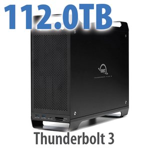 112TB (8x14TB) ThunderBay Flex 8 Thunderbolt 3 Storage Solution