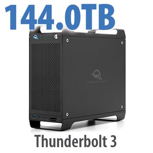 144TB (8x18TB) ThunderBay Flex 8 Thunderbolt 3 Storage Solution