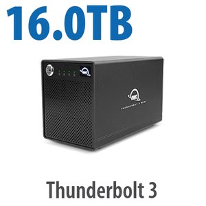 16.0TB OWC ThunderBay 4 mini RAID 4 Four-Drive SSD External Thunderbolt 3 Storage Solution
