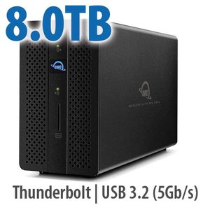 8.0TB OWC Mercury Elite Pro Dock - Thunderbolt 3 Dock and Dual-Drive RAID Solution