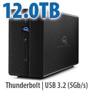 12.0TB OWC Mercury Elite Pro Dock + Dual Drive RAID Solution!