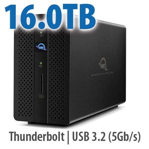 16.0TB OWC Mercury Elite Pro Dock - Thunderbolt 3 Dock and Dual-Drive RAID Solution