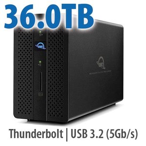36.0TB OWC Mercury Elite Pro Dock - Thunderbolt 3 Dock and Dual-Drive RAID Solution