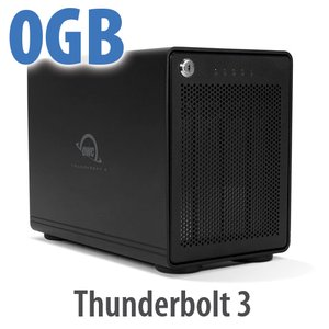 OWC ThunderBay 4 RAID 5 4-Bay External Storage Enclosure with Dual Thunderbolt 3 Ports