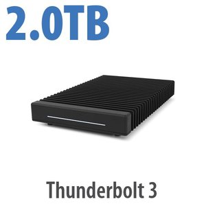 (*) 2.0TB OWC ThunderBlade Ultra High-Performance Gen 2 Thunderbolt 3 Storage Solution