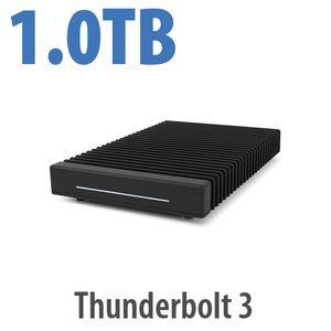 (*) 1.0TB OWC ThunderBlade Ultra High-Performance Thunderbolt 3 Storage Solution