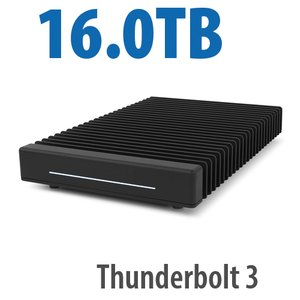 (*) 16.0TB OWC ThunderBlade Ultra High-Performance Gen 2 Thunderbolt 3 Storage Solution